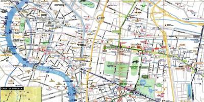 Bangkok Mapa Mapas De Bangkok Tailandia
